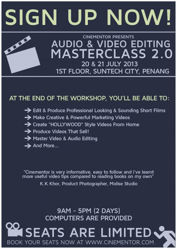 Audio & Video Workshop 2.0