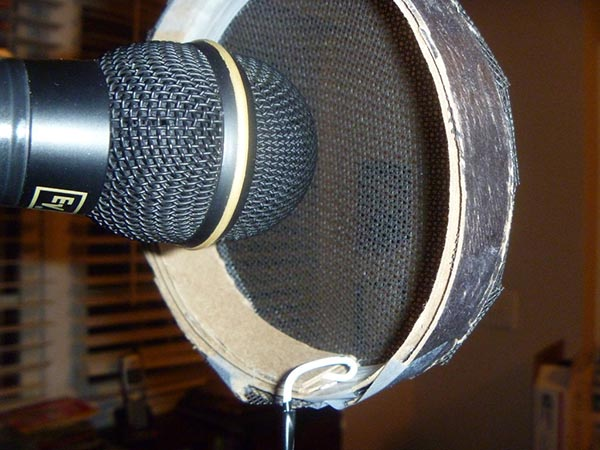 Don't want to look like a fool? Don't use pop filter with this type of microphone