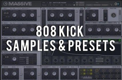 808 Kick Drum Sample