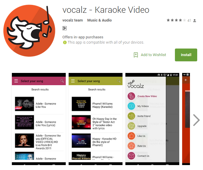 Vocalz - New Karaoke App Allows You To Record Yourself Singing