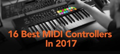 best midi controllers 2017