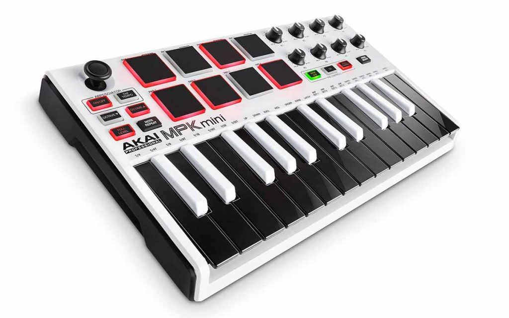 Akai MPK MKII Mini audio mentor