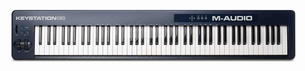 m-audio keystation 88 ii review