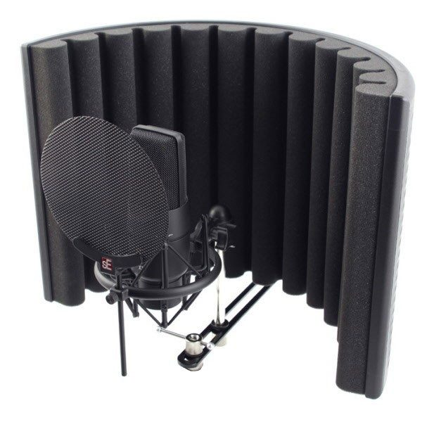 portable studio isolation shield