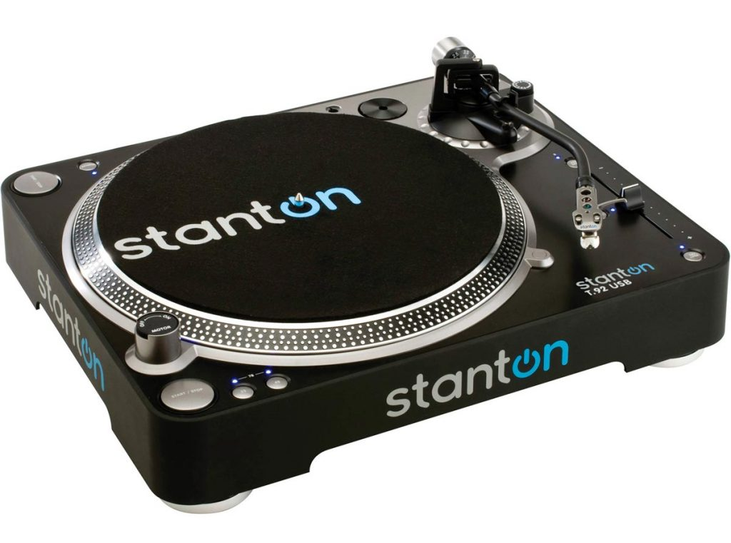 Stanton-T92USB-USB-Direct-Drive-DJ-Turntable