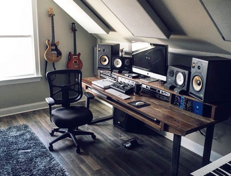 Studio Monitor Placement Small Room