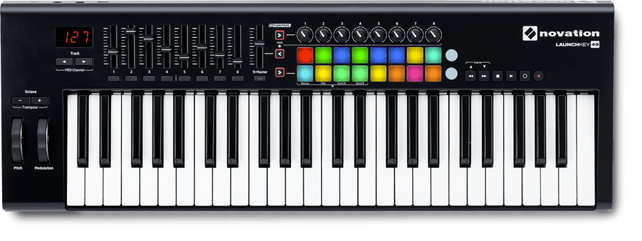 novation launchkey audio mentor