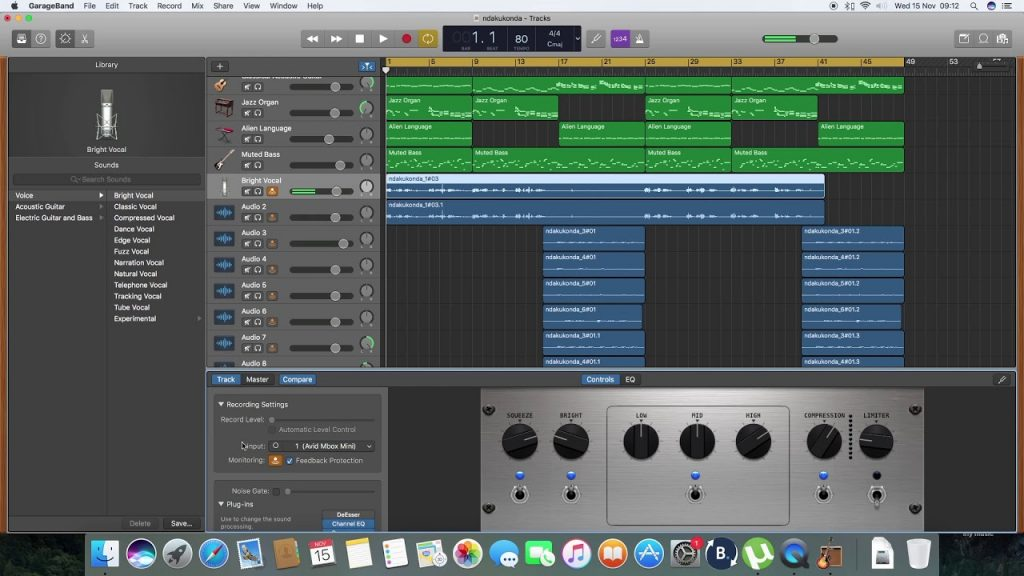 best free daw for mac garageband