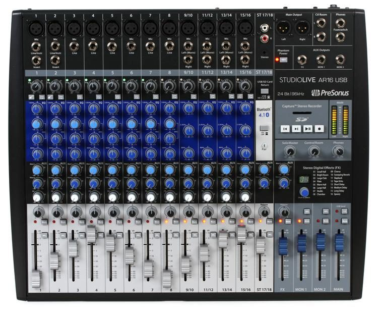top 10 analog and digital mixers for your home studio. Black Bedroom Furniture Sets. Home Design Ideas