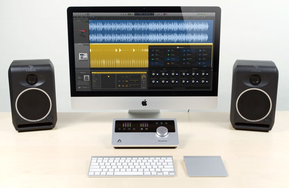 apple imac recording studio