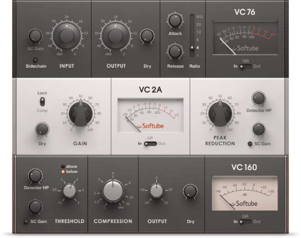 vca compressor native instruments